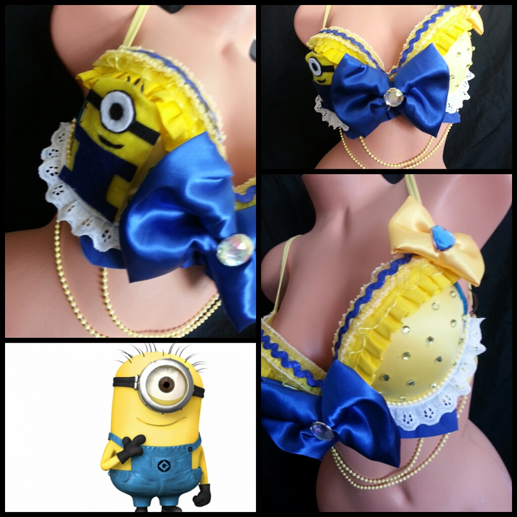 1402c21e5cdd5 Minion Inspired Rave Outfit on Storenvy