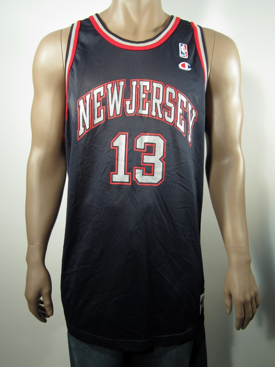 2c0d90524b7 Kendall Gill New Jersey Nets Champion Jersey 52 NWT on Storenvy