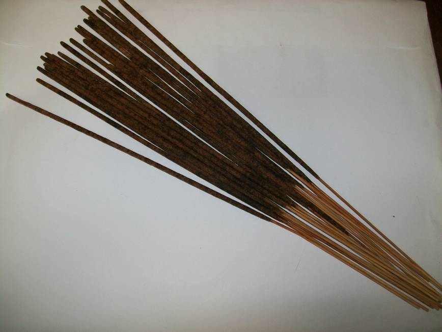 Lavender Flowers Long Burning Hand Dipped Incense
