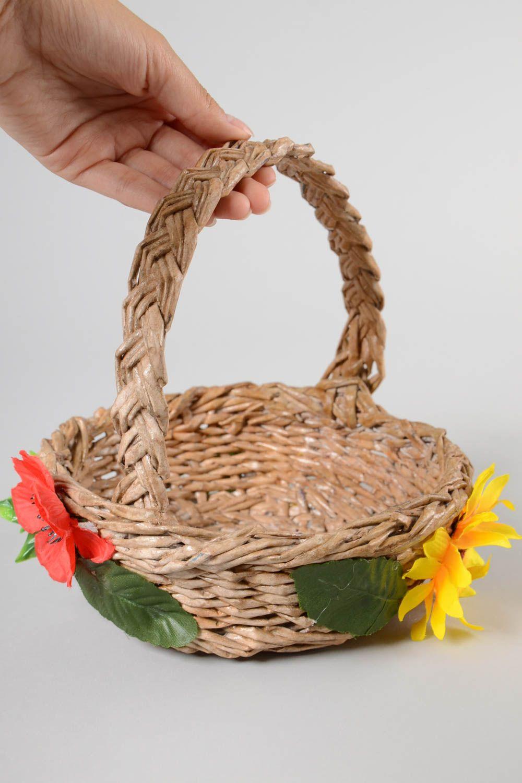 Handmade paper basket 70