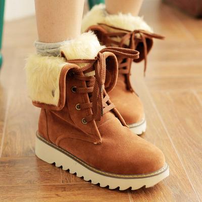 Plus size womens warm snow boots · Cute Kawaii {harajuku