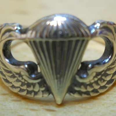 Airborne Paratrooper Rings Amp Pendants 183 Maddog Silver