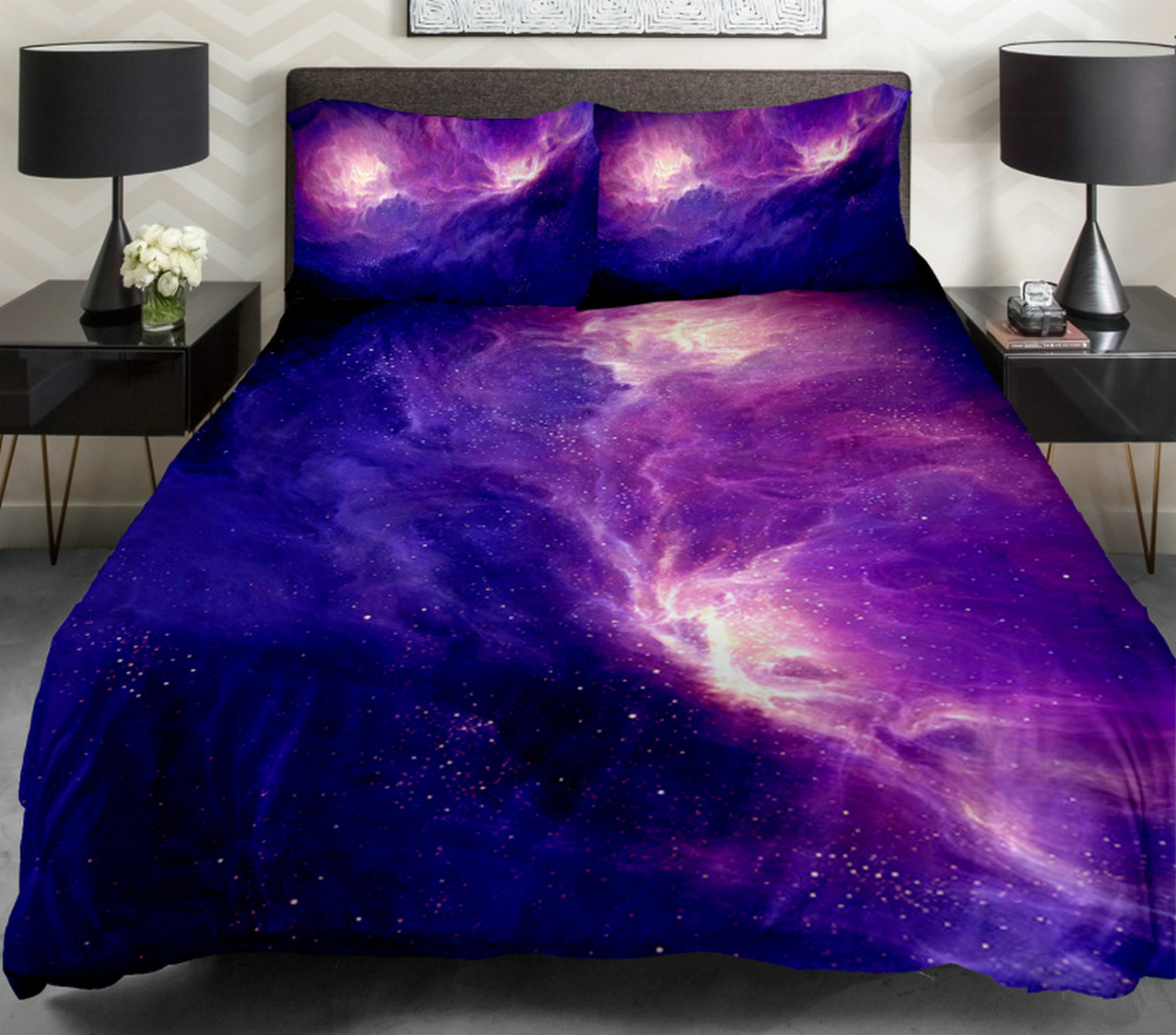 Anlye Daybed Bedding The Gift Ideas Set 1 Side Printing Out Space Quilt Duvet Covers Out Space Bed With 2 Throw Pillow Covers Sold By Anlye Com Storenvy Shop