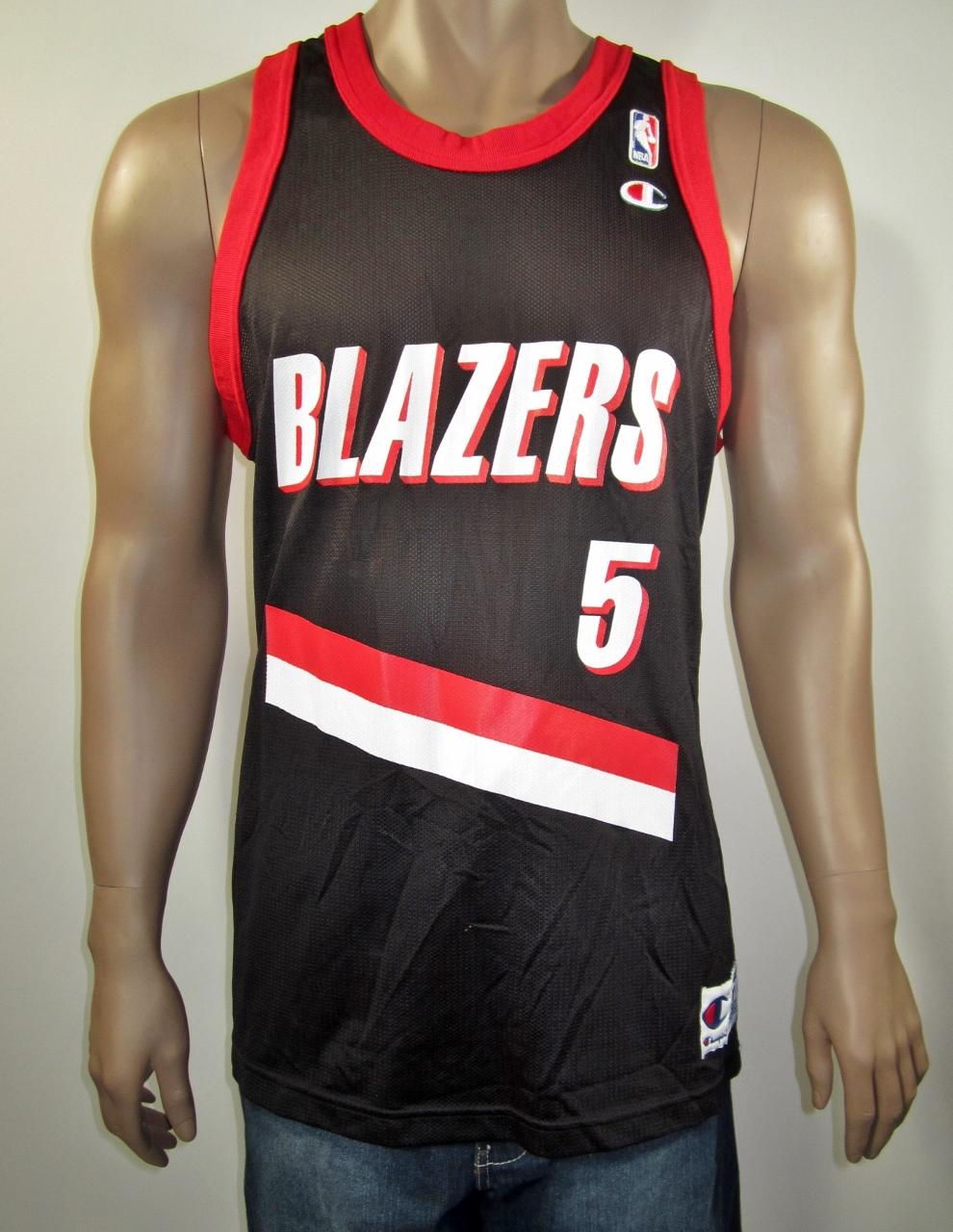 933206be967 Jermaine O Neal Portland Trail Blazers Champion Jersey 44 NWT on ...