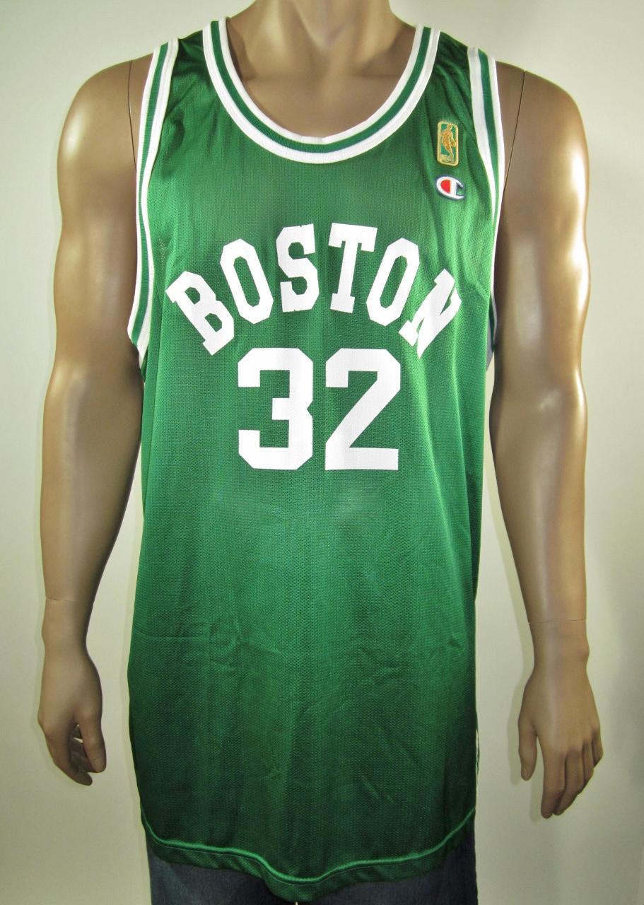 5e05ea052b4 Kevin McHale Boston Celtics NBA 50 Gold Logo Champion Jersey 52 NWT ...