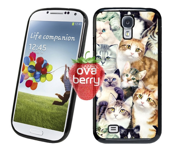 2a07d57d6f Cute Cat Painting iPhone 6S Plus 6 5S 5C Samsung Galaxy S6 Edge S5 Note 5