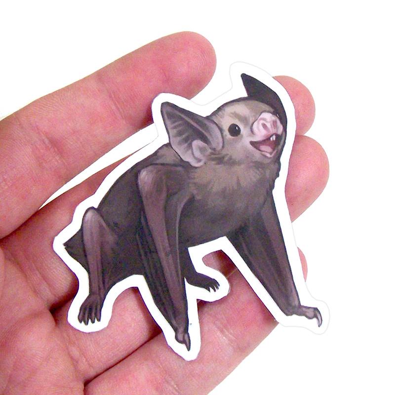 Witty Critters Bats Sticker Sheet