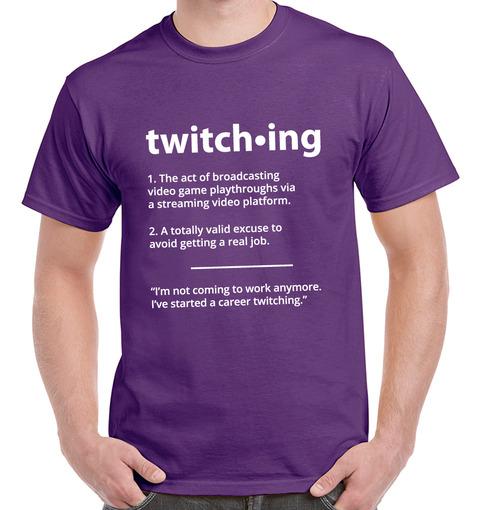 Twitch T Shirt Stream Broadcast Gamer Tee Hearthstone