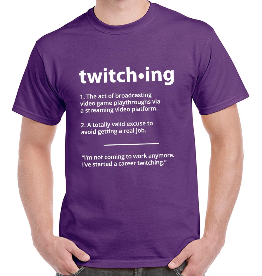 600eccfecc4 Twitch Streamer Tee Shirt - Capital Facility Management