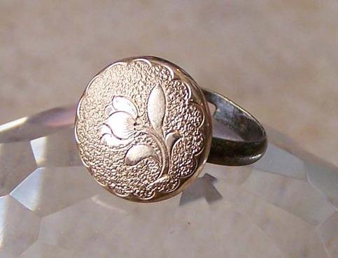 Tulip Vintage Repurposed Ring On Storenvy