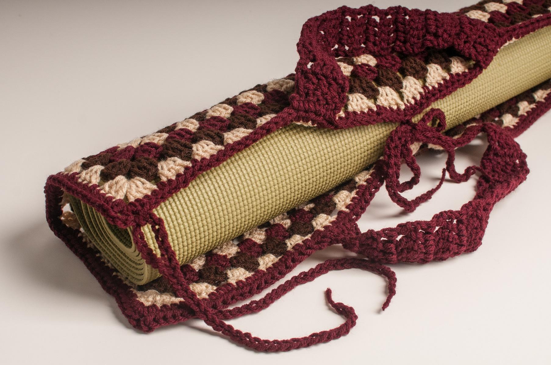Sam S Crochet Handmade Health Granny Square Yoga Mat Bag Online Store Powered By Storenvy