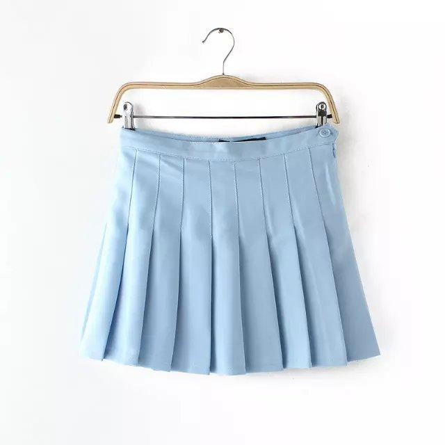 Blue Tennis Skirt 116
