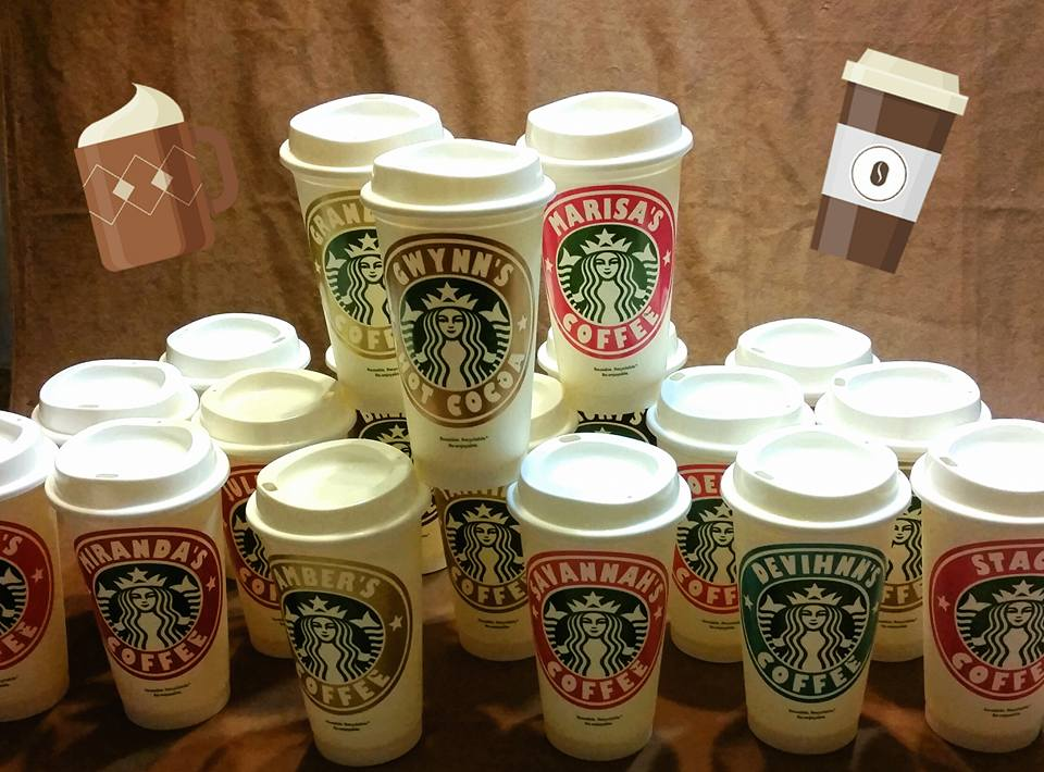 Personalized Starbucks Cups From The Branding Iron Trading Co