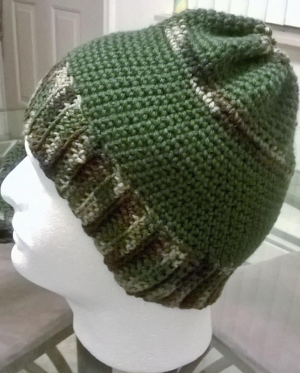 f9dd9a1d913b4 Camo (Single Crochet) Hat on Storenvy