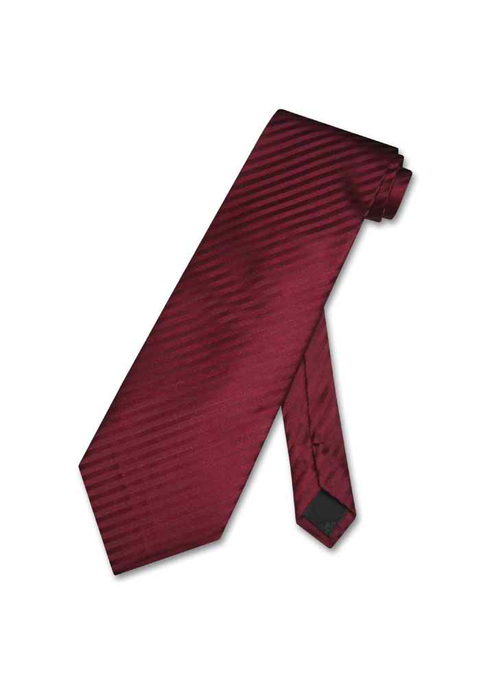 f176f2e607 ... Men's Dress Vest & NeckTie Burgundy Vertical Stripes Design Set for Suit  / Tux - Thumbnail ...