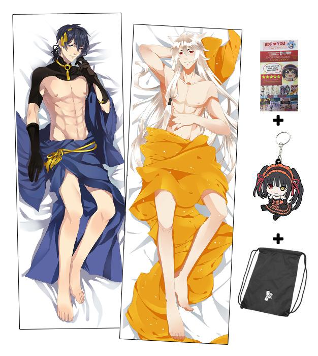 Brand New Touken Ranbu Male Anime Dakimakura Japanese Hugging Body Extraordinary Anime Boy Body Pillow Covers