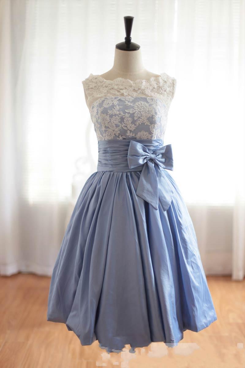 Short Bridesmaid Dress Lace Bridesmaid Dresscute Bridesmaid Dress