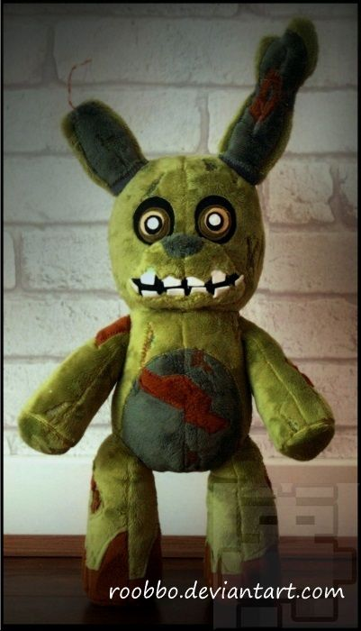 Of Five Nights At Freddy S Springtrap Plush Thumbnail 1