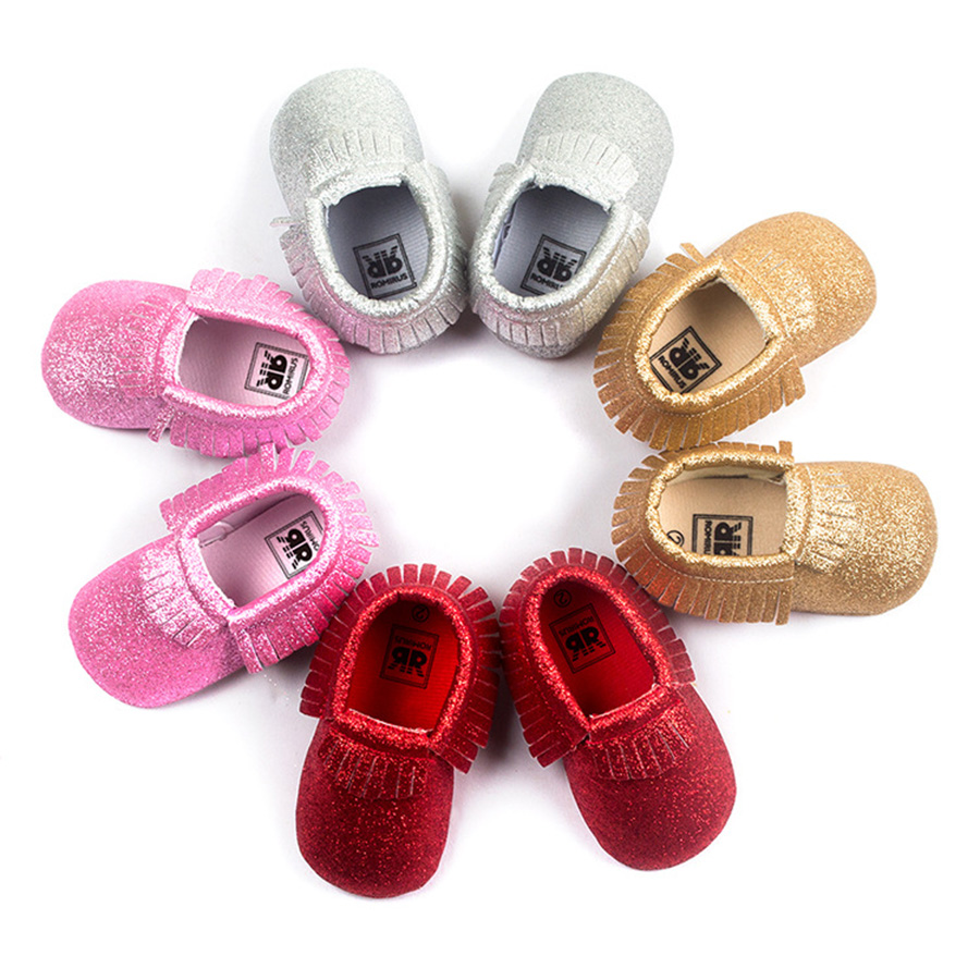 5050bda6ca4e Baby Glitter Moccasins Moccs · NM Kids Boutique · Online Store ...