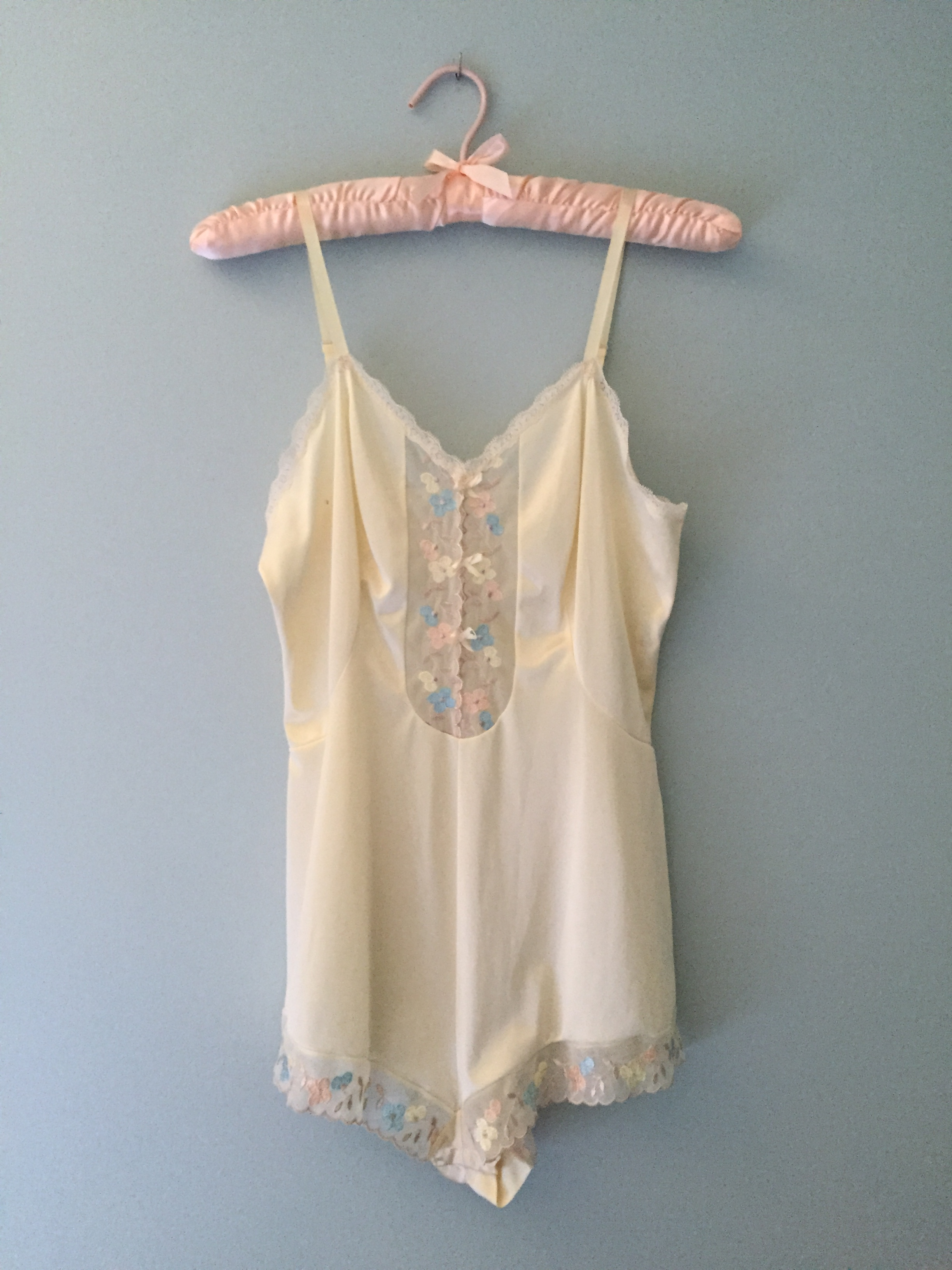 7d572ea08a Vintage Small Crazy Vanilla Ice Cream Romper