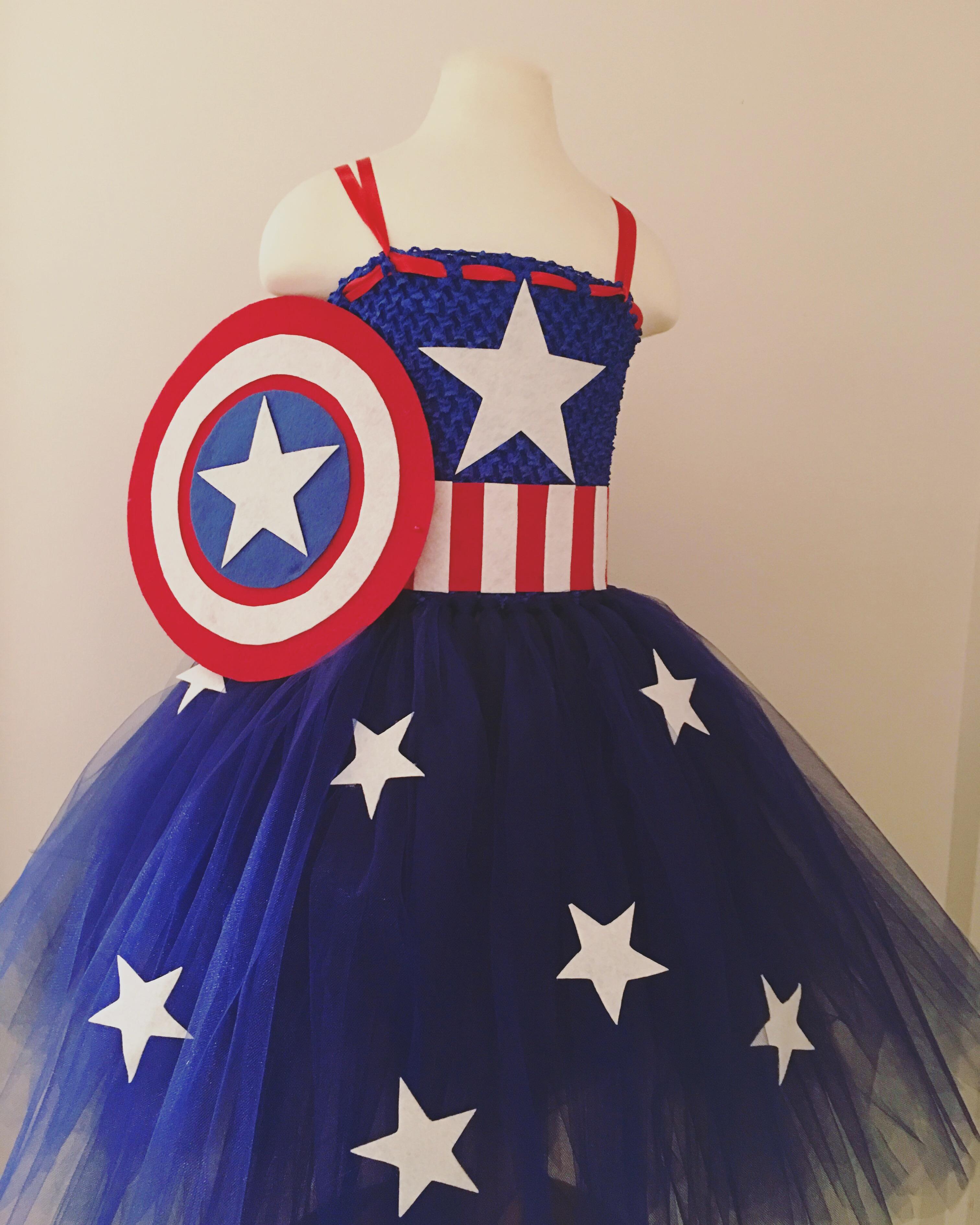 726f31133 Captian America Birthday Tutu Dress on Storenvy