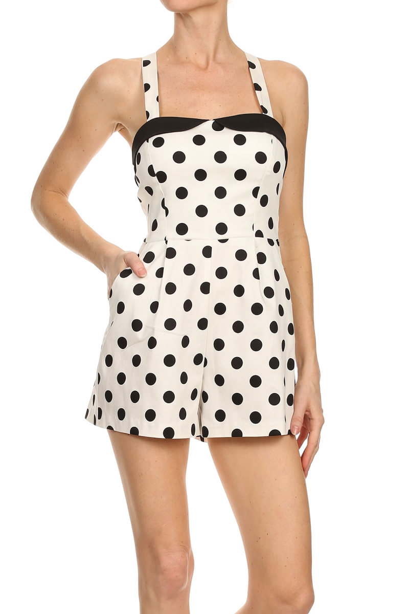 53f71d0e7cb Pin-Up Polka Dot Romper · Dialed In Boutique · Online Store Powered ...