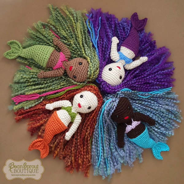Lil Sprout Mermaid Doll Bean Sprout Boutique Online Store