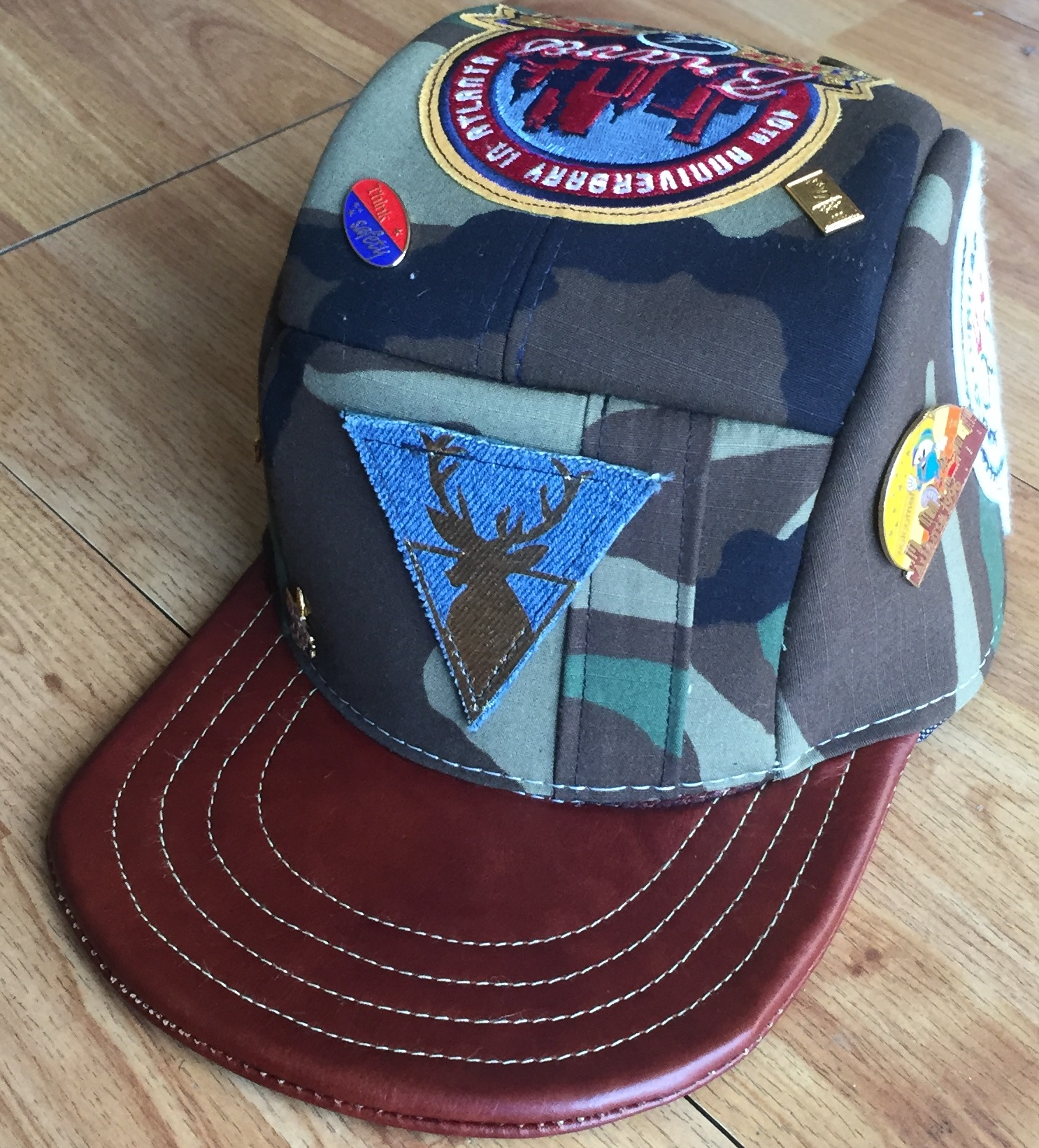 2c0aa42d33b Lamont Rudolph Atlanta Themed Patch Hat on Storenvy