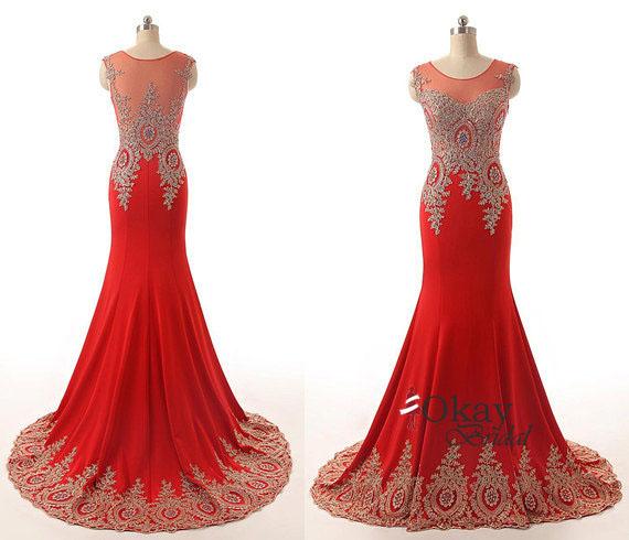 cheap orange prom dresses