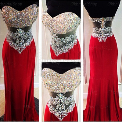 a3680b5914 Long prom dresses, red prom dresses, beading prom dress, sparkly prom  dresses, cheap prom dresses, evening dresses, PD15378 from Yesdress