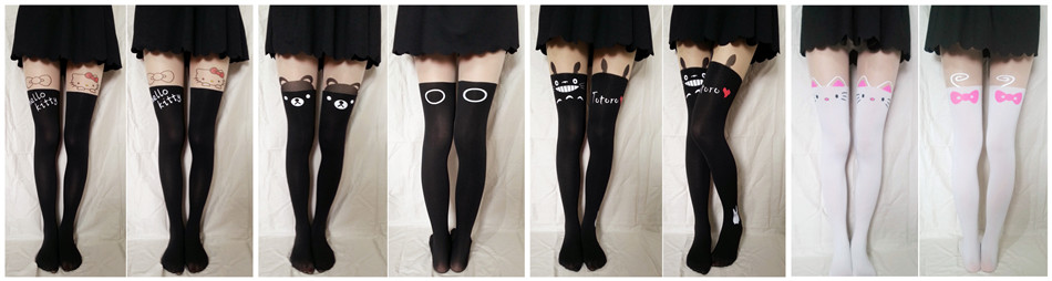 507a8acc18f Totoro Thigh High Tights · Noirlu · Online Store Powered by Storenvy