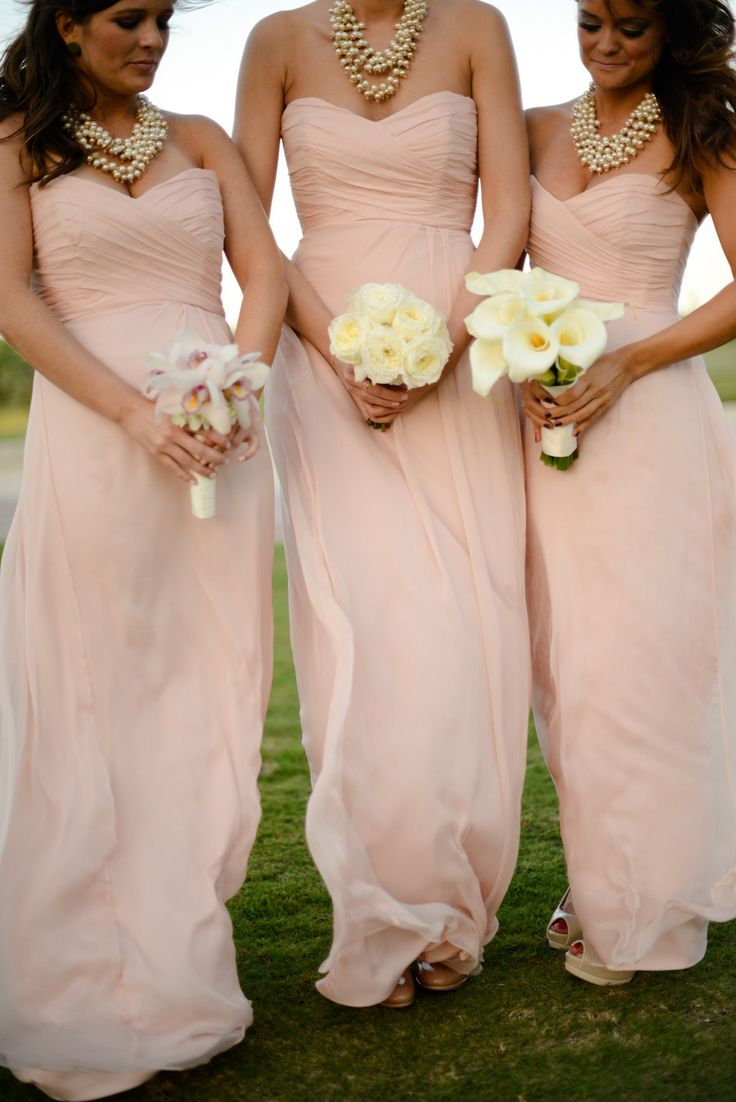 Bridesmaid Dresses with Jewelry