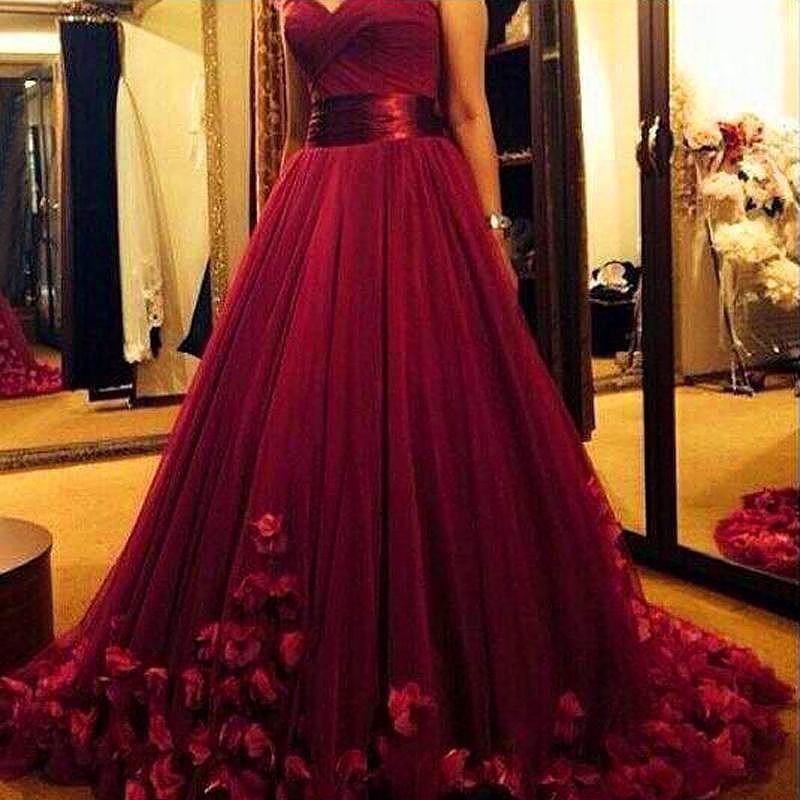 burgundy prom dresses tulle prom dresses prom dress prom. Black Bedroom Furniture Sets. Home Design Ideas