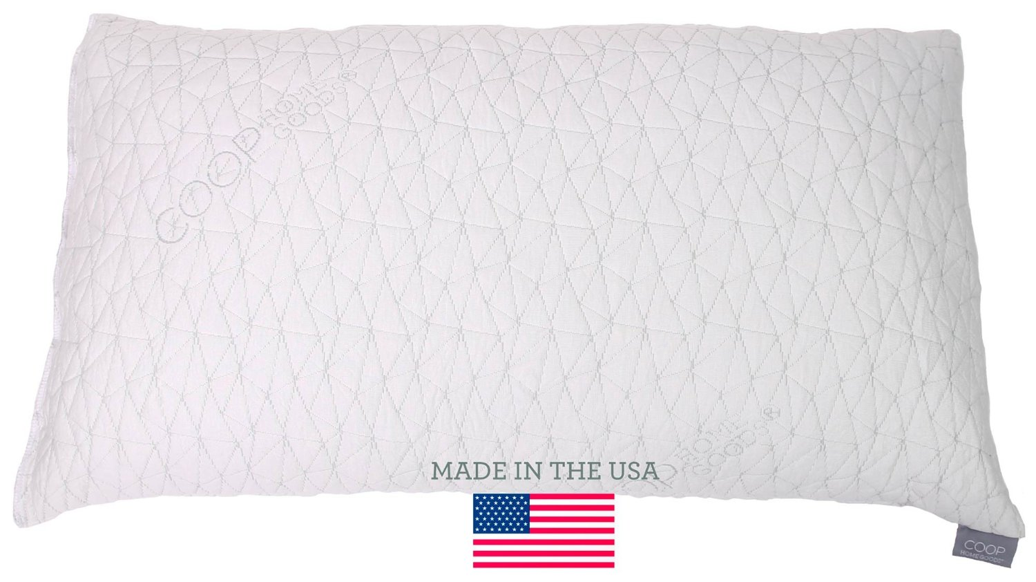 Shredded Memory Foam Pillow With Viscose Rayon Cover Derived From