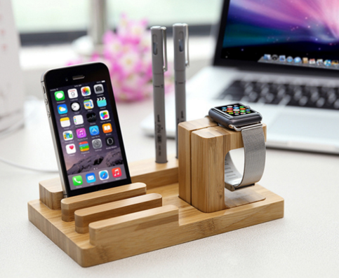 Iphone 6 Dock Station Wooden Iphone Holder Ipad Stand