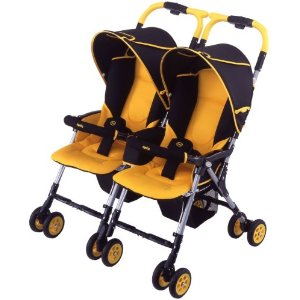 Aprica-Japan | Twin Stroller Aprica Nelco Bed Twin Thermo ...