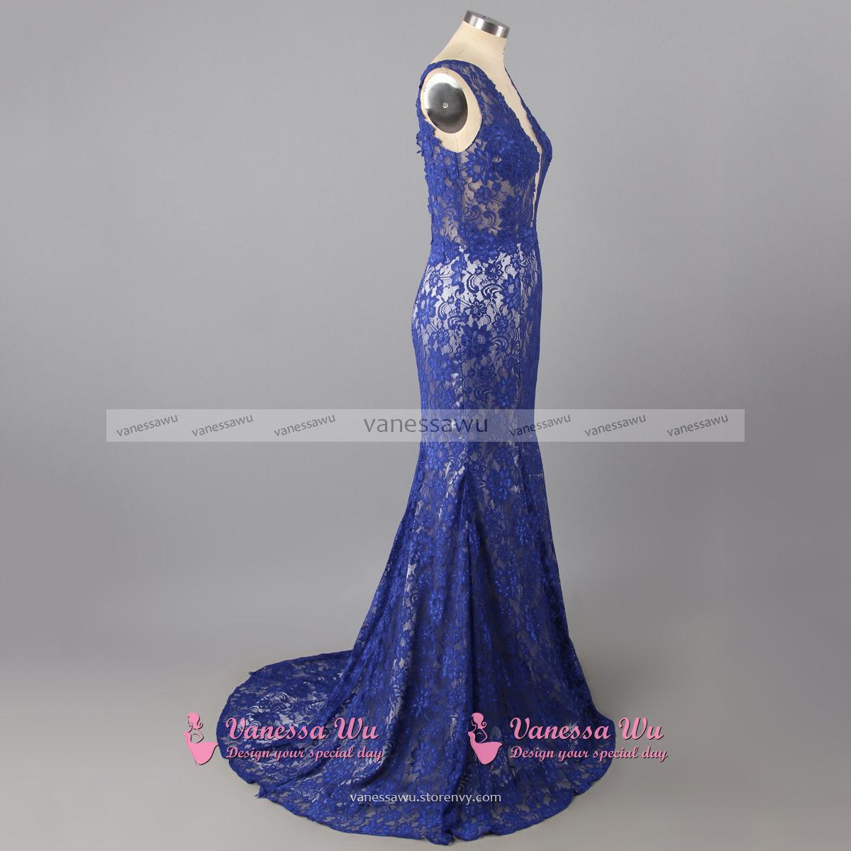 15f8cee4d3 2 Piece Blue Floral Prom Dress - Gomes Weine AG