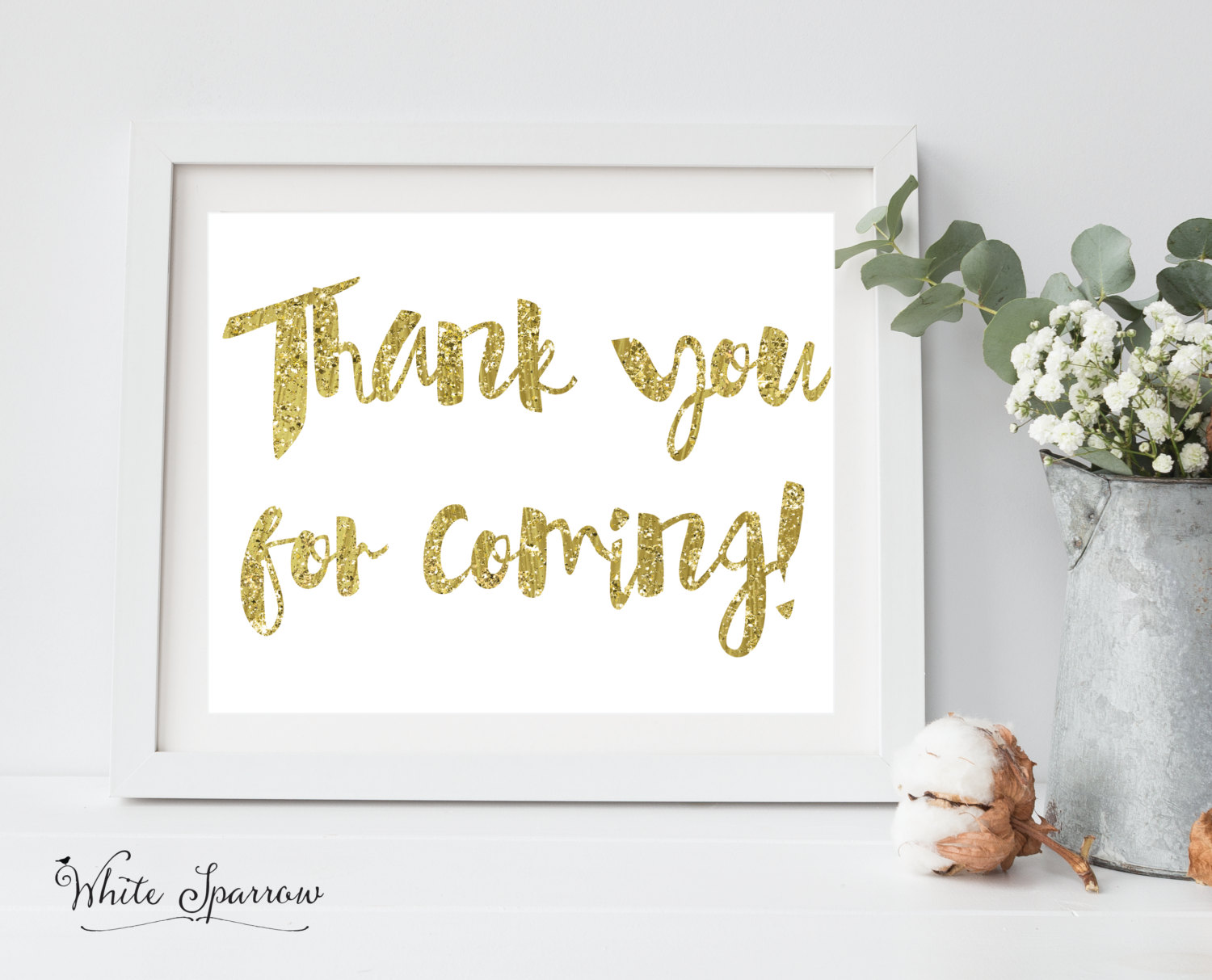 Bridal Shower Decorations Bridal Shower Ideas Gold Bridal Shower Decor Gold Bridal Shower Signs For Bridal Shower Thank You For Coming Sold By