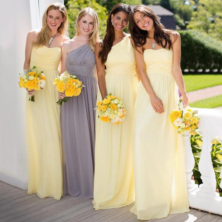 [تصویر:  Yellow-A-line-Chiffon-Bridesmaid-Dresses...iginal.jpg]