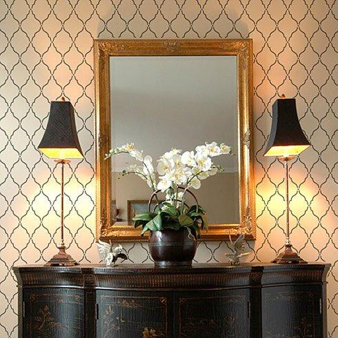 Moorish Delight Stencil Pattern - LARGE - Better Than Decals - DIY Wall  Decor from Cutting Edge Stencils