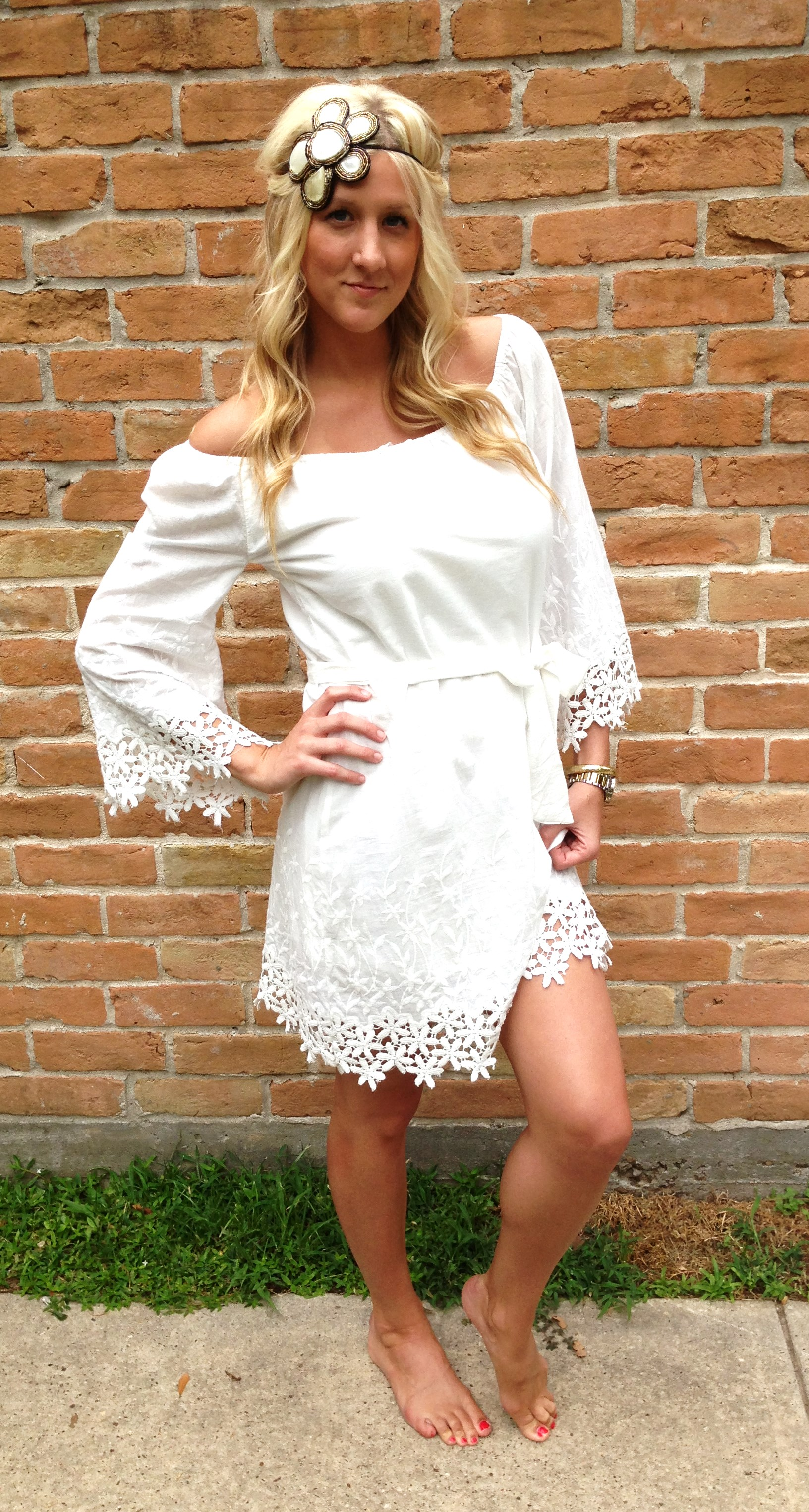Tarra White Dress On Storenvy