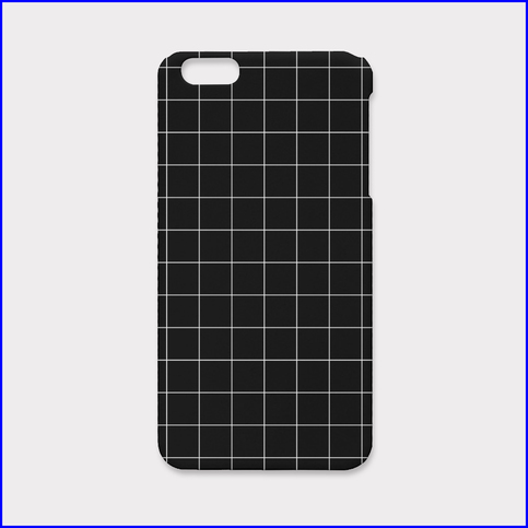 Grid black iphone case on storenvy for Ipad grid template