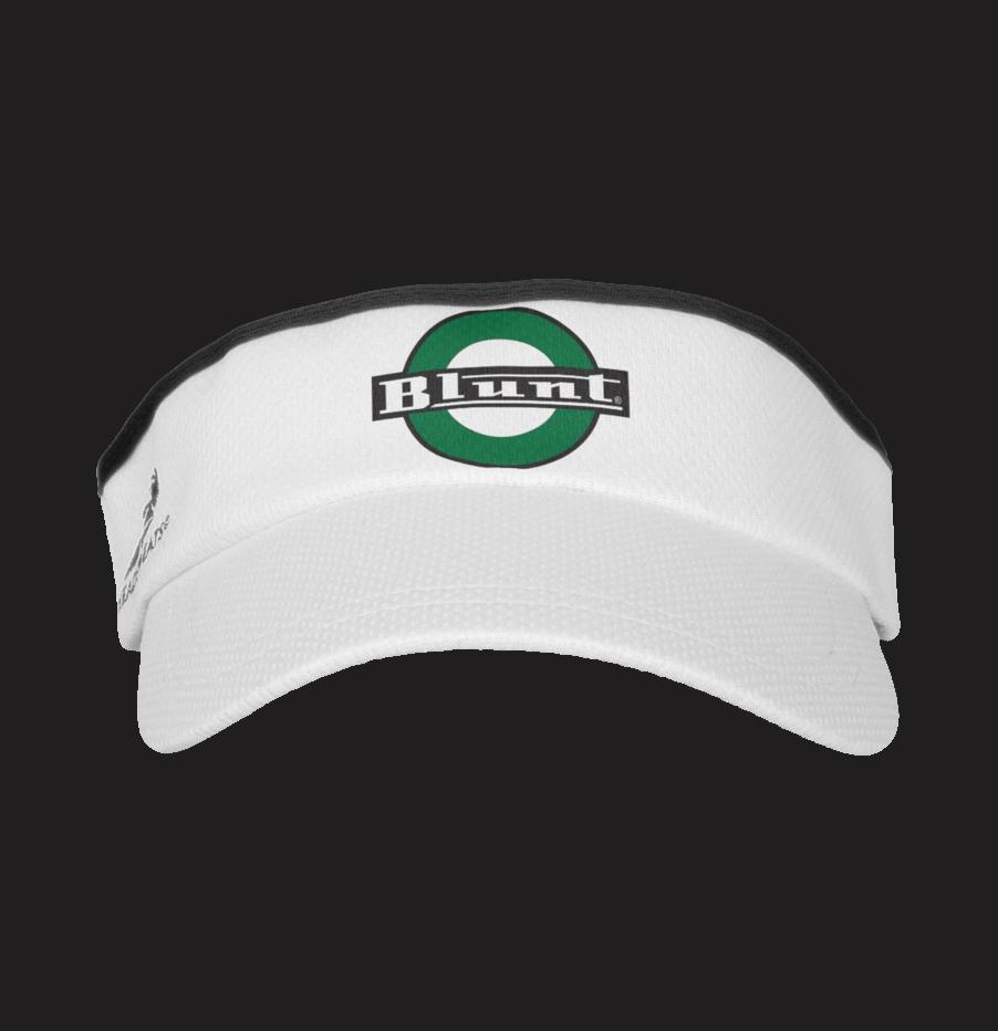 88fd6e40aa229 Blunt Official Green Logo Visor · Blunt Clothing · Online Store ...