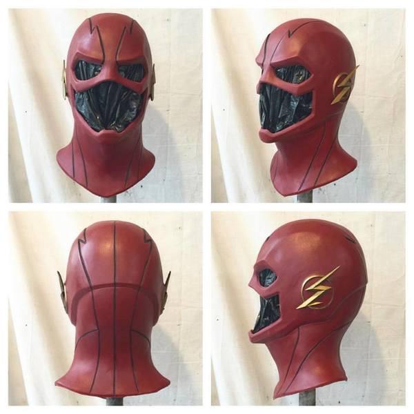 CW flash mask ( foam latex ) from Jester FX Studios