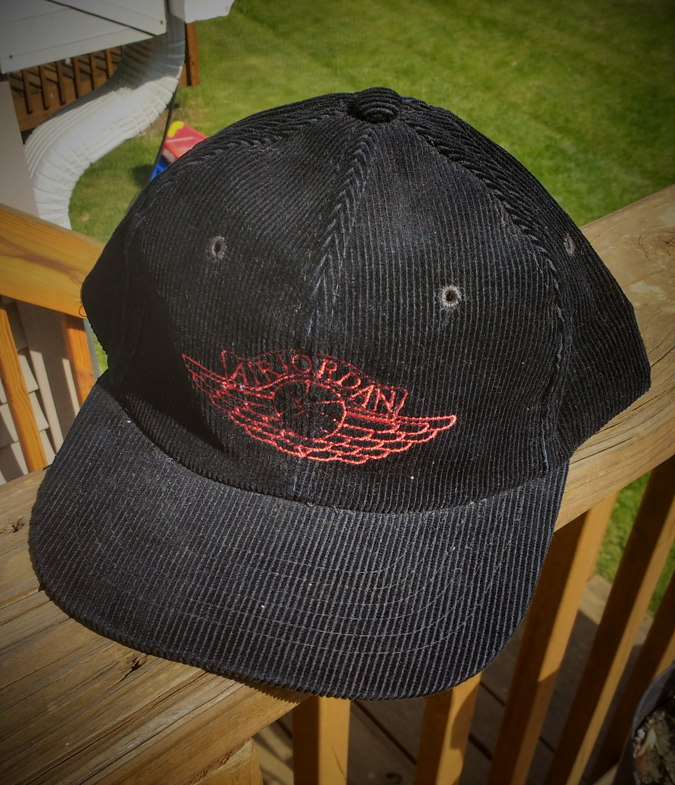 58a1604e941 Vintage 80 s Nike Air Jordan 1 Corduroy Hat on Storenvy