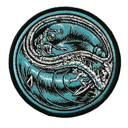 surf skate patch iron on ready embroidered color patch jimbo phillips webstore online store. Black Bedroom Furniture Sets. Home Design Ideas