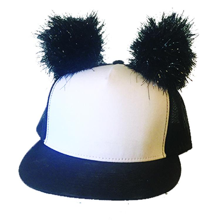 8cf4e6d4428 PANDA PUFF HAT on Storenvy