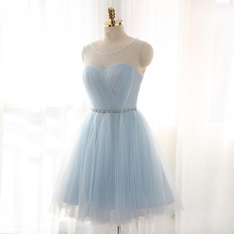 f5031578f11 Solo Dress Light Sky Blue Prom Dress