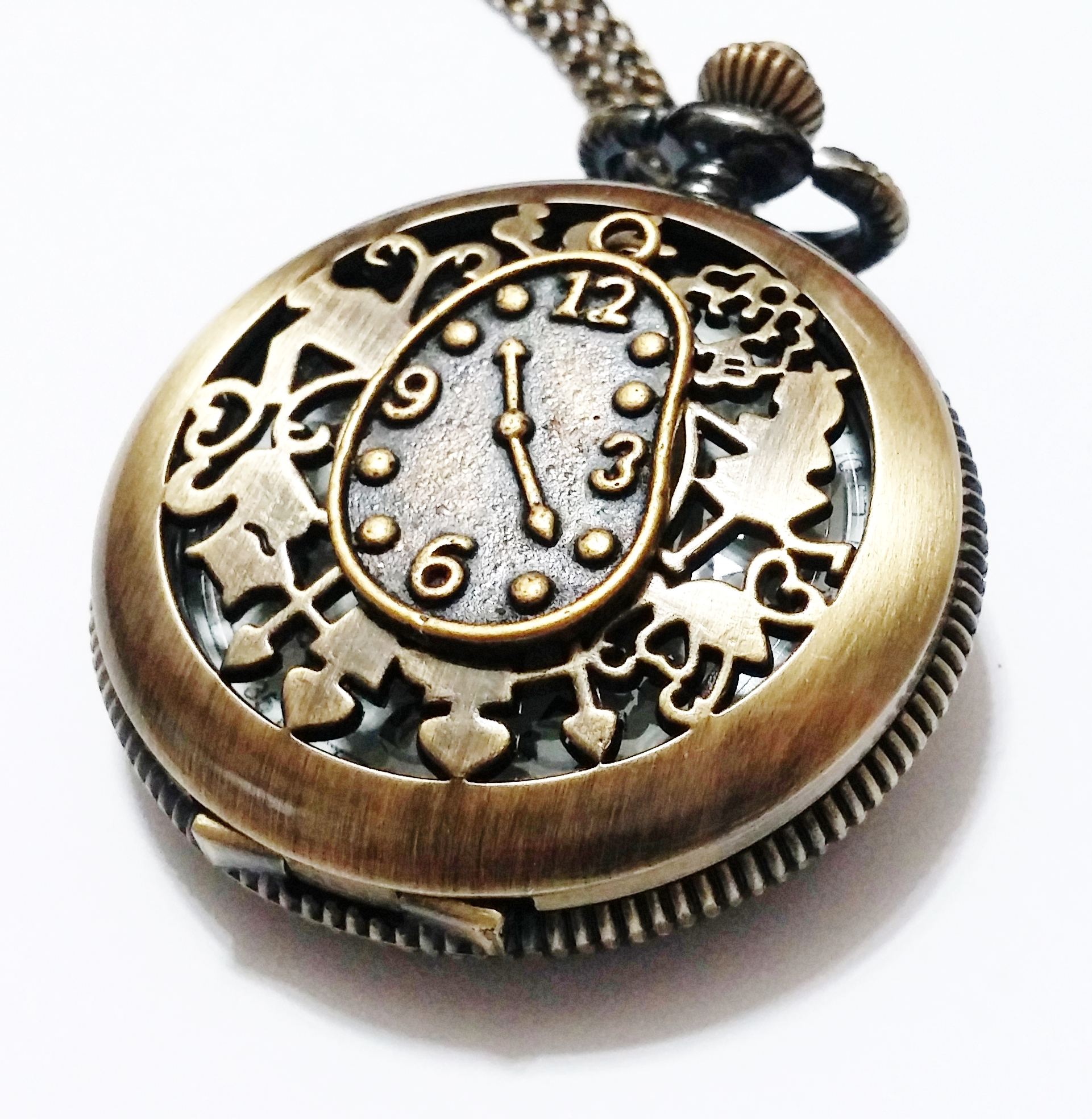 marigold steampunk pendant pocket beadaholique watch