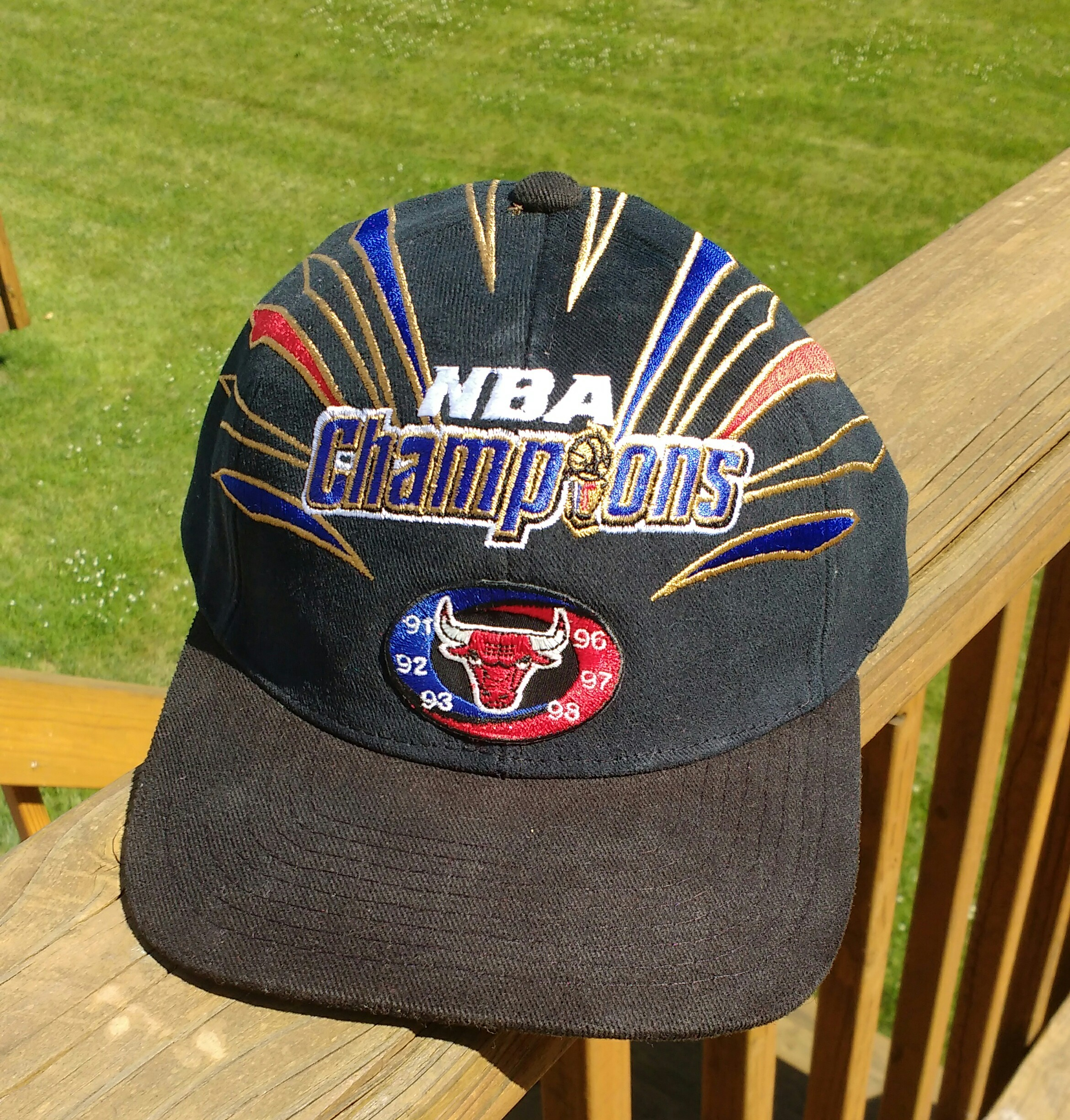 eda39f75510 Vintage 1998 Chicago Bulls Championship Hat By Starter on Storenvy
